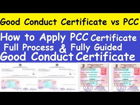 How to Apply PCC Certificate From My Home Country l Good Conduct Certificate vs PCC Certificate