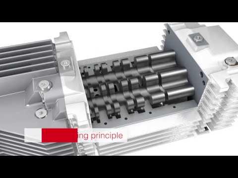 ECODRY plus, Multi-stage Roots vacuum pump