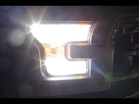 2015 F150 CREE LED HEADLIGHT INSTALL F150LEDS.COM