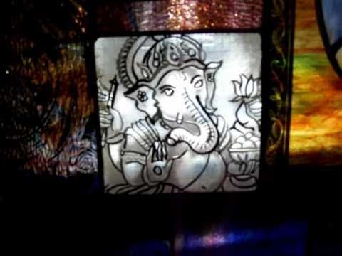 Traditional Stained Glass painting tutorial Part 2