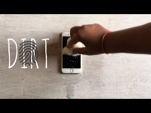 How To Clean Touchscreen Smudges (Fingerprint Impression) From Your Smartphone Screen!
