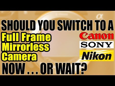 Should You Switch To Sony Full Frame Mirrorless Camera Now Or Wait For Canon And Nikon