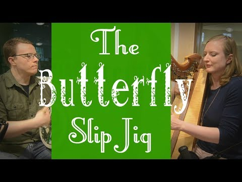 The Butterfly Slip Jig | Harp and Bodhran