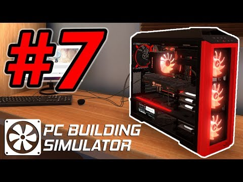 HACKER ATTACK FRIED CUSTOMER'S PC!! - PC Building Simulator Gameplay - Ep. 7