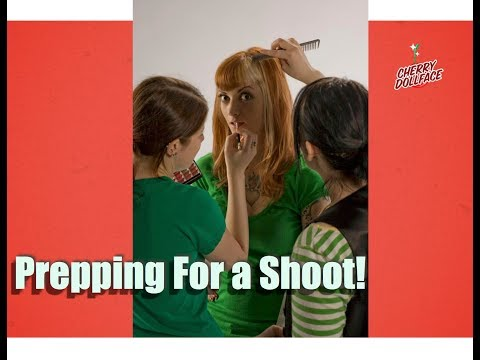 How To Prepare For a Photoshoot! by CHERRY DOLLFACE
