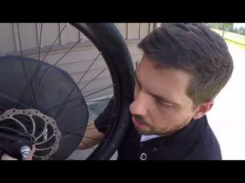 How to Change a Flat on an Electric Bike with a Hub Motor