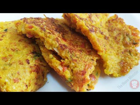 आटे का हैल्थी टेस्टी और नए तरीके का नाश्ता कम तेल का की आप रोज़ बनाकर खाएंगे Breakfast Recipes Indian