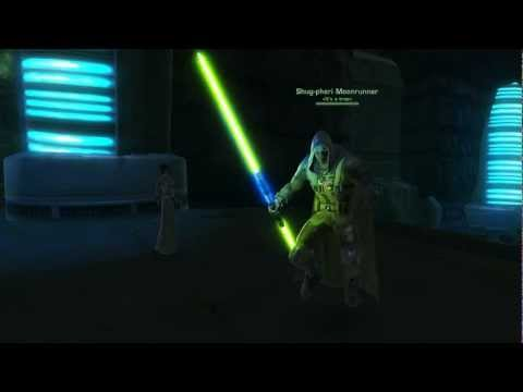 SWTOR: Bug - Guardian with double-bladed lightsaber?!
