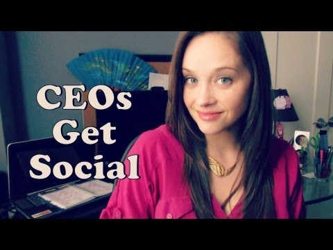 How do I get my CEO to be Social?
