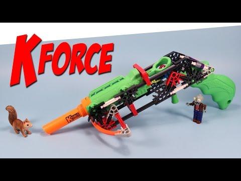 K'nex Kforce Build and Blast Mini Cross Building Set Review