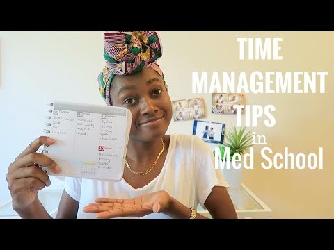 Time Management Tips in Medical School   How I Manage My Time