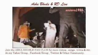 Asha Bhosle & RD Burman Live Video