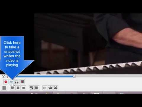 Take Snapshots/Pictures from Movies/Videos using VLC Media Player