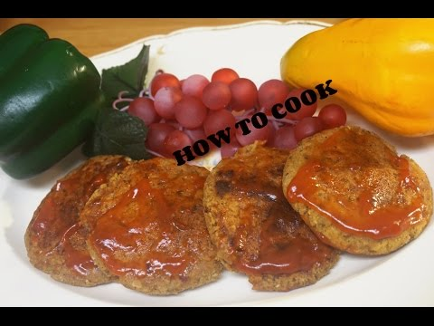HOW TO MAKE THE BEST VEGGIE VEGAN BURGER SOY FREE  EGGLESS RECIPE 2016