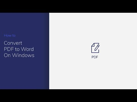 Convert PDF to Word on Windows with PDFelement