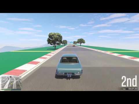 GTA 5 Top Speed Drag Race (Turismo Classic vs. Casco)