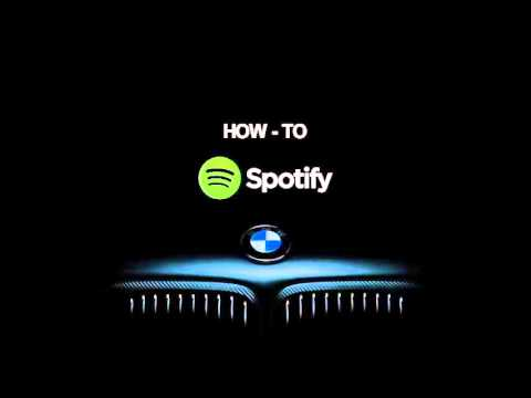 BMW How-To: Connect Spotify or Pandora