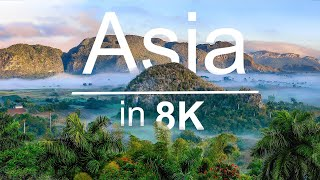 Asia | Raw Beauty - 8K HDR UltraHD (120 FPS)