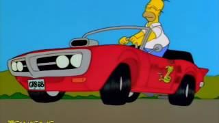 Homer Buys Snake's Car