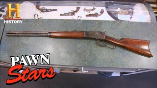 Pawn Stars: POWERFUL 100-Year-Old Rifle Fires INSANE ROUNDS (Season 6) | History