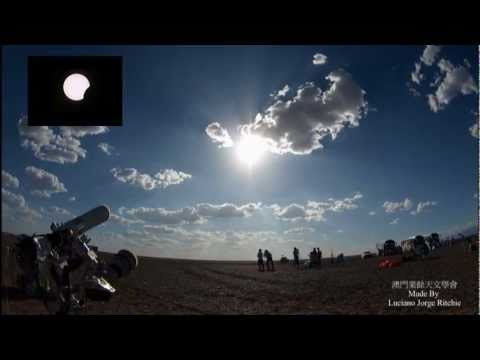 2008 total solar eclipse in China Xinjiang Time Lapse.mp4