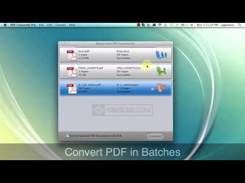 PDF Converter Pro for Mac - Convert PDF to Any Editable Format