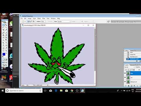 how to do a 3d effect in Photoshop CS2