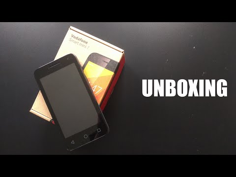 Unboxing the Vodafone Smart Mini 7