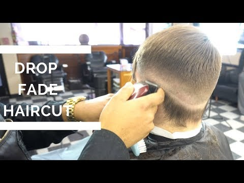 How To Do A Drop Fade Haircut | Low Fade Haircut