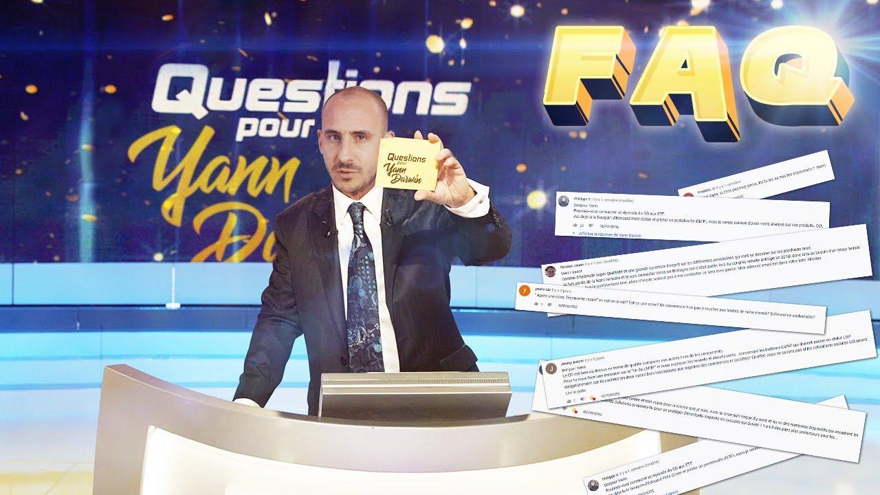 FAQ INVESTISSEUR - JE RÉPONDS À VOS COMMENTAIRES