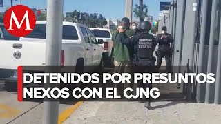 Detienen a supervisor de Policía de Tecate por nexos con CJNG