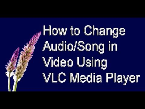 How to Change Audio/Song in Video Using VLC Media Player ( in Tamil )