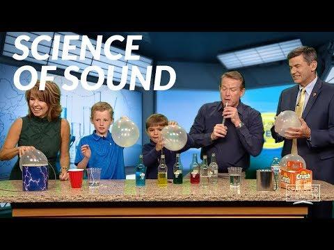 Science of Sound - Steve Spangler on 9News