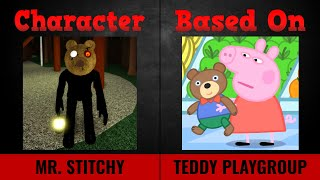 Piggy Skins vs Peppa Pig Characters UPDATED PIGGY 2 CHAPTER 3!