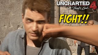 GETTING MY ASS WHOOPED IN JAIL! [UNCHARTED 4] [GAMEPLAY!] [#01]
