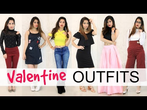 Budget Friendly Outfits for this Valentines Day - #LookBook |Anaysa