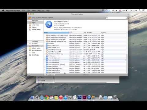 Keychain Access Mac