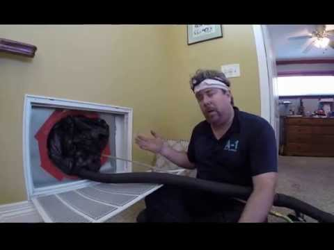 Full Air Duct Cleaning Demonstration
