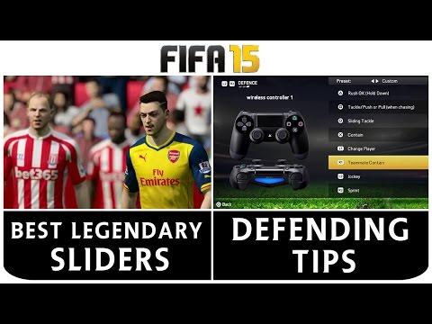[TTB] FIFA 15 - Best Legendary Sliders - Settings - How To Defend - Defending Tips