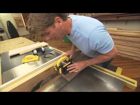 The Secret to Cutting Thin Strips on a Table Saw with Tommy Mac