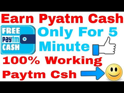 EARN PAYTM CASH FROM MOBILE