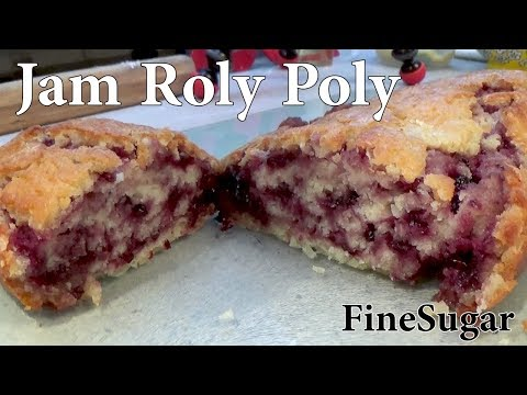 Easy Jam Roly Poly Pudding