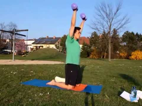 Broken Ankle Workout Video