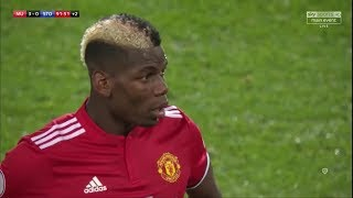 Paul Pogba vs Stoke City (Home) 17-18 HD - English Commentary