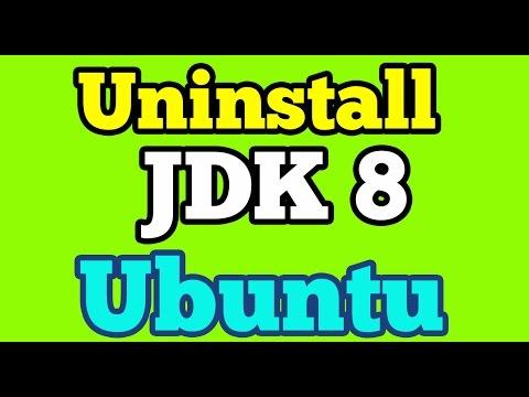 Uninstall Oracle Java Jdk 8 from Ubuntu 14.04 using Terminal