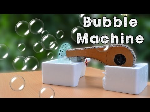 How to make a Bubble Machine / DIY Bubble Blower