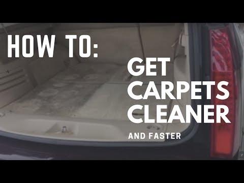 Interior Car Detailing Secrets - How To Get Carpets Cleaner