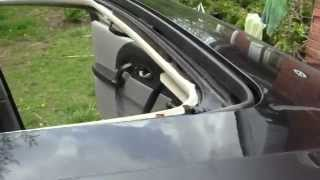 HOW to repair/ fix a water leaking sunroof in UNDER 5 MINUTES