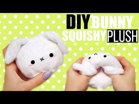 DIY BUNNY SQUISHY PLUSHIE! EASTER 2018