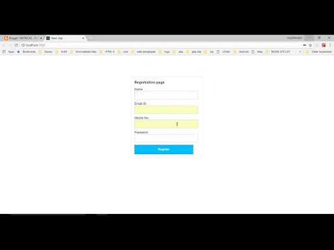 Simple Form Validation In Reactjs Example